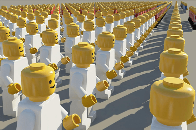 Rows of lego men: candidate personas help navigate potential candidates and save time