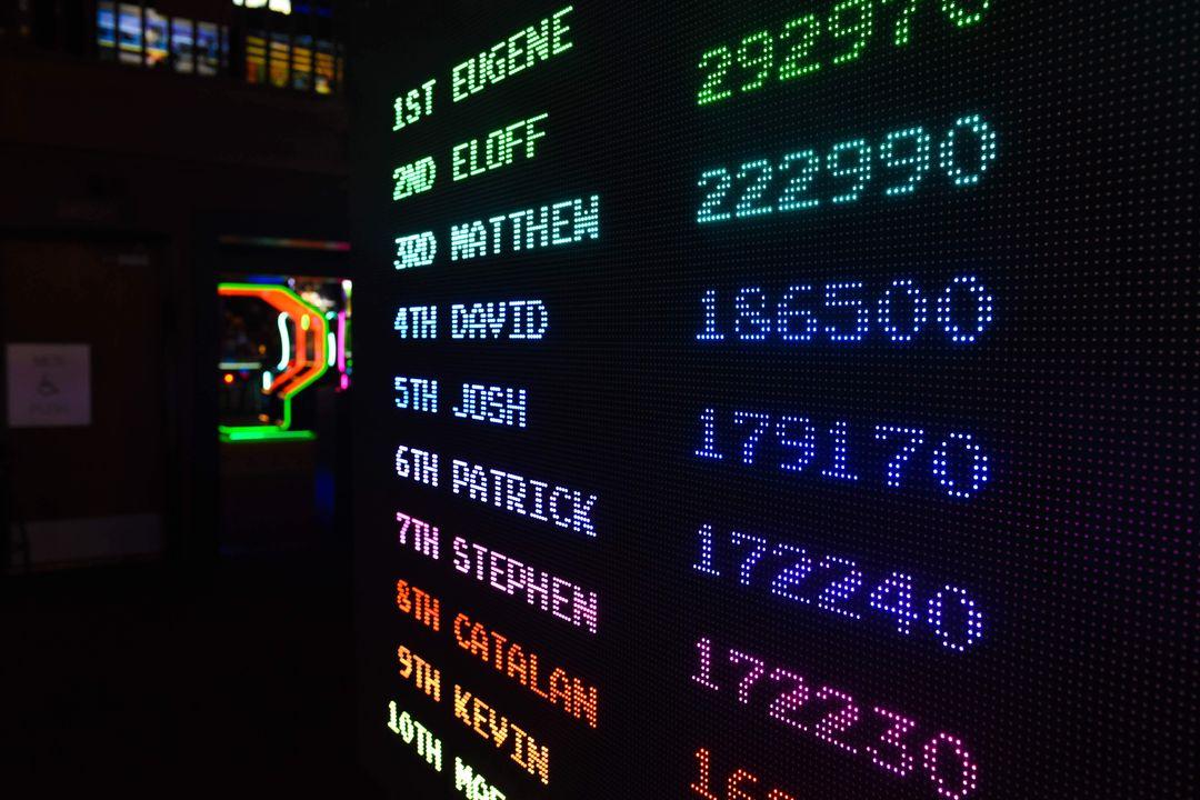 arcade scores
