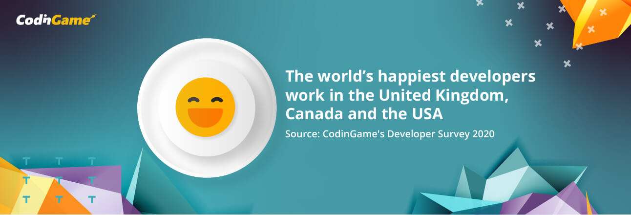 The world's happiest developers work in the UK