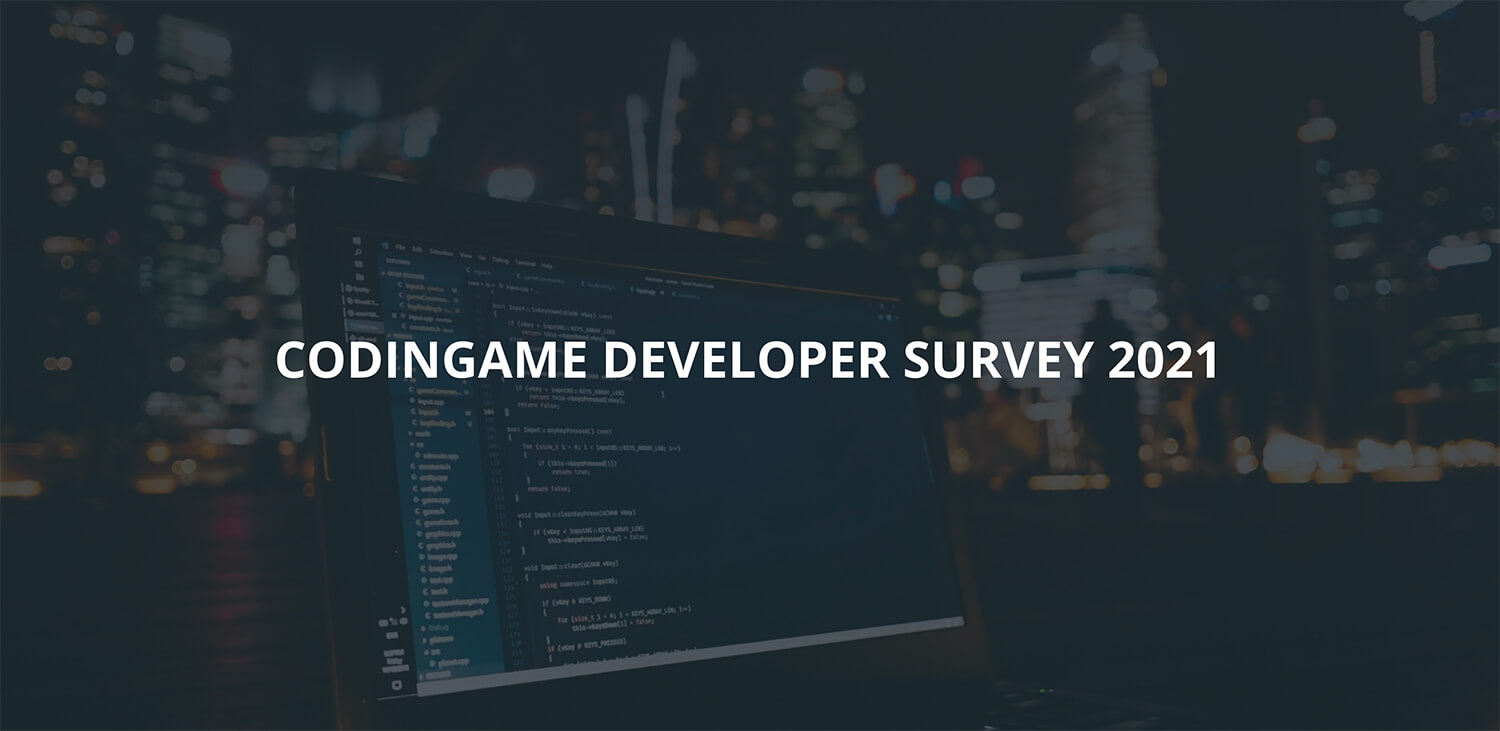 CodinGame 2021 Survey Cover