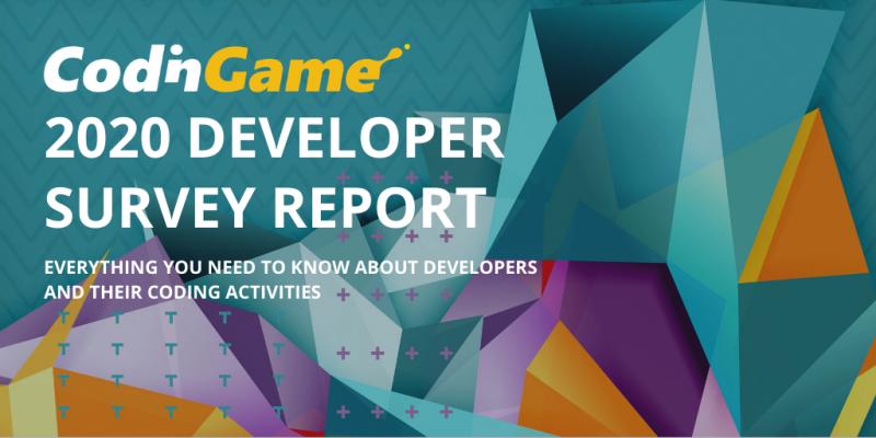 Illustration for CodinGame 2020 Developer Survey Report
